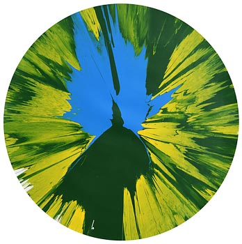 Damien Hirst, Circle Spin Painting (2009) at Morgan O'Driscoll Art Auctions