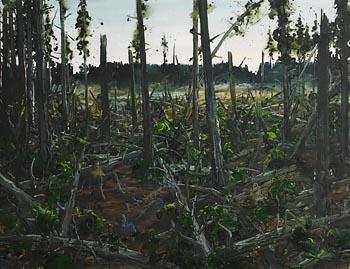Sven Kroner, Sturmschaden Lothar (Storm Damage) (2005) at Morgan O'Driscoll Art Auctions