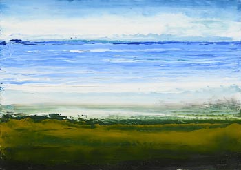 Sean McSweeney, Summer Shoreline (2012) at Morgan O'Driscoll Art Auctions
