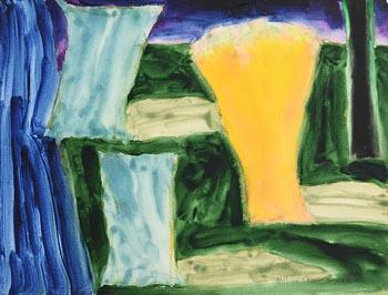 William Crozier, Coastal Landscape, West Cork (1994) at Morgan O'Driscoll Art Auctions