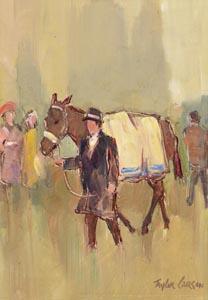 Robert Taylor, The Enclosure at Morgan O'Driscoll Art Auctions