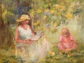The Fallen Petals at Morgan O'Driscoll Art Auctions