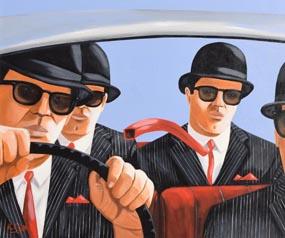 Ken O'Neill, The Journeymen at Morgan O'Driscoll Art Auctions