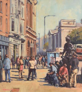 Norman Teeling, Molly Malone at Morgan O'Driscoll Art Auctions