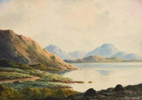 Douglas Alexander, Near Delphi, Connemara at Morgan O'Driscoll Art Auctions