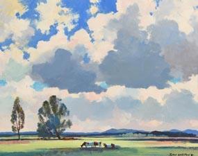 John Skelton, Pastures New (1981) at Morgan O'Driscoll Art Auctions