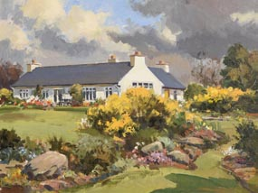 Maurice Canning Wilks, Mum's House at Morgan O'Driscoll Art Auctions