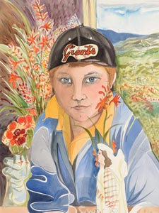 Pauline Bewick, Giants Fan at Morgan O'Driscoll Art Auctions