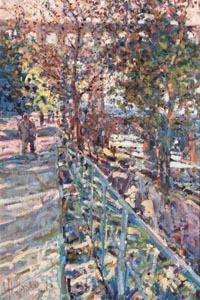 Arthur K. Maderson, April Evening, Pont du Gard, France at Morgan O'Driscoll Art Auctions