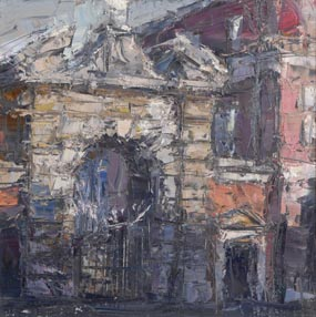 Entrance Gates to Dublin Castle (2009) at Morgan O'Driscoll Art Auctions