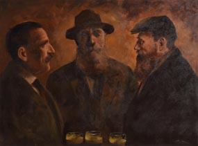 Ted Jones, Three Amigos at Morgan O'Driscoll Art Auctions