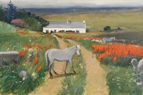 Cecil Maguire, Connemara, Errisbeg  (2007) at Morgan O'Driscoll Art Auctions