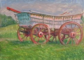 Alicia Boyle, Wagon (1941) at Morgan O'Driscoll Art Auctions