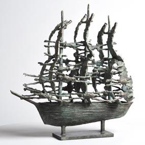 John Behan, Famine Ship (2014) at Morgan O'Driscoll Art Auctions