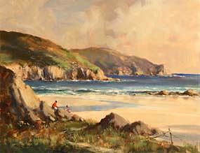 George K. Gillespie, Kilyahowey Strand, Dunfanaghy, Co Donegal at Morgan O'Driscoll Art Auctions