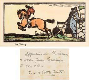 Jack Butler Yeats, The Jockey at Morgan O'Driscoll Art Auctions