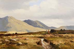 Maurice Canning Wilks, In the Inagh Valley, Connemara at Morgan O'Driscoll Art Auctions