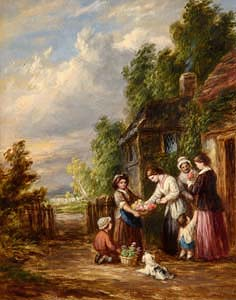 John Anthony Puller, The Flower Seller at Morgan O'Driscoll Art Auctions