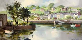 Kenneth Webb, Kinsale, Co. Cork at Morgan O'Driscoll Art Auctions