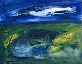 Sean McSweeney, Shoreline Bog (1992) at Morgan O'Driscoll Art Auctions