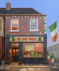 Brian McCarthy, The Hat Trick (2011) at Morgan O'Driscoll Art Auctions