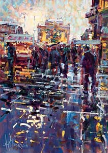 Arthur K. Maderson, La Place de Comedie, Montpellier, France at Morgan O'Driscoll Art Auctions