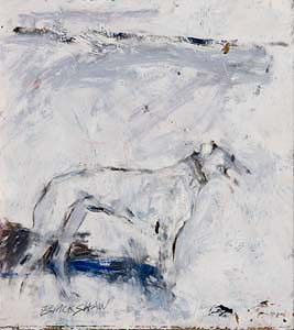 Basil Blackshaw, Greyhound at Morgan O'Driscoll Art Auctions