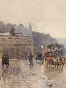Rose Maynard Barton, The Rotunda Rooms, Dublin (1900) at Morgan O'Driscoll Art Auctions