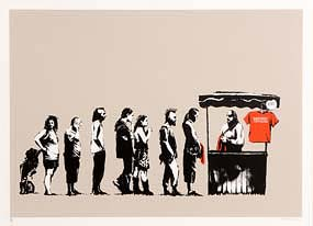 Banksy, Festival (2006) at Morgan O'Driscoll Art Auctions