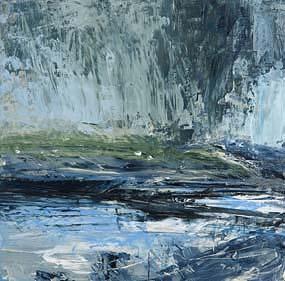 Donald Teskey, The Gearagh Study (2008) at Morgan O'Driscoll Art Auctions