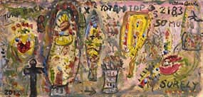 Alan Davie, Totem Top (2012) at Morgan O'Driscoll Art Auctions