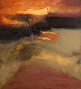 Hughie O'Donoghue, Red Earth VI (1995) at Morgan O'Driscoll Art Auctions