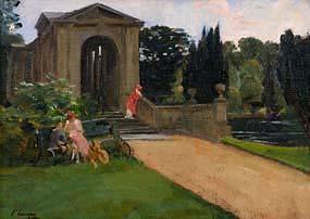 Sir John Lavery, The Palladian Bridge, Wilton (1920) at Morgan O'Driscoll Art Auctions