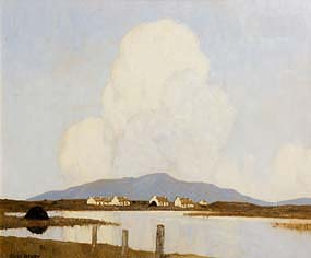 Paul Henry, Evening in Achill (1930-8) at Morgan O'Driscoll Art Auctions