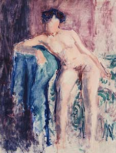 Roderic O'Conor, Nude on a Couch (c.1911) at Morgan O'Driscoll Art Auctions