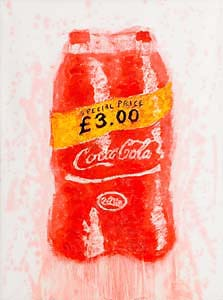 Neil Shawcross, Coca Cola (2013) at Morgan O'Driscoll Art Auctions