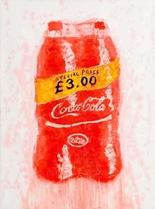 Neil Shawcross, Coca Cola (2013) at Morgan O'Driscoll Art Auctions