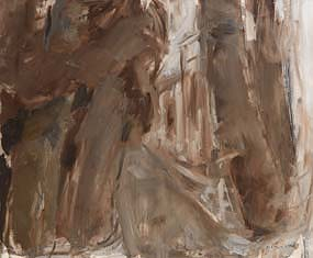 Basil Blackshaw, Trees at Cogry, Co. Antrim at Morgan O'Driscoll Art Auctions