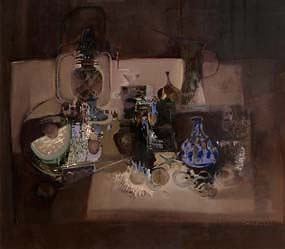 George Campbell, Still Life With Many Things at Morgan O'Driscoll Art Auctions
