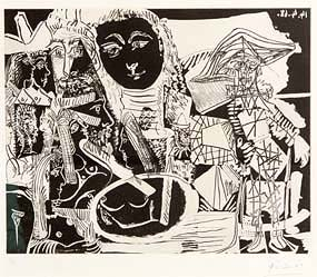 Pablo Picasso (1881-1973), Untitled (from the 347 Series) (1968) at Morgan O'Driscoll Art Auctions