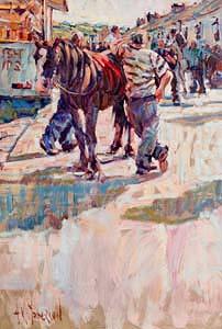 Arthur K. Maderson, Tallow Horse Fair at Morgan O'Driscoll Art Auctions