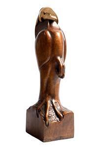 Anna Linnane, Hooded Eagle at Morgan O'Driscoll Art Auctions