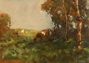 James Humbert Craig, Cattle Grazing at Morgan O'Driscoll Art Auctions