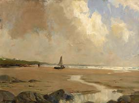 James Humbert Craig, Preparing the Boat at Morgan O'Driscoll Art Auctions