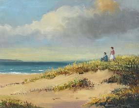 Norman J. McCaig, Looking out to Sea at Morgan O'Driscoll Art Auctions