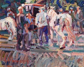 Arthur K. Maderson, Afternoon, Tallow Horse Fair at Morgan O'Driscoll Art Auctions