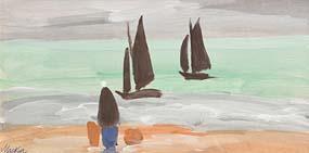 Markey Robinson, Water's Edge at Morgan O'Driscoll Art Auctions