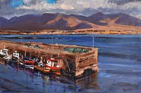 Michael Hanrahan, Roundstone, Connemara at Morgan O'Driscoll Art Auctions
