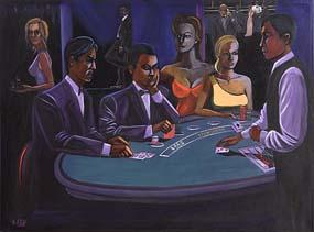 Ken O'Neill, Blackjack at Morgan O'Driscoll Art Auctions