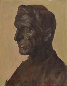 John F. Kelly, De Valera- from a Bust by Albert Power at Morgan O'Driscoll Art Auctions